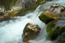Stream Running Water Royalty Free Stock Photos