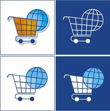 Free Globe In Basket Stock Image - 23204391