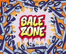 Free Sale Zone Stock Image - 23206261