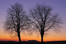 Free Landscape After Sunset Stock Photography - 23208022