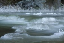 Free Frozen Creek Stock Images - 23208144
