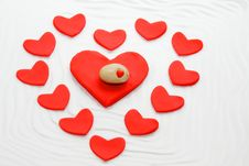 Free Red Heart Royalty Free Stock Photo - 23208215