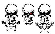 Free The Dependencies Skulls Stock Image - 23209341