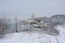 Free Kiev. City Under Snow Stock Photo - 23211840