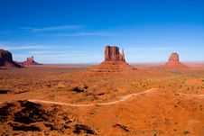 Free Monument Valley Royalty Free Stock Photos - 23213608