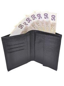 Free Open Wallet Royalty Free Stock Photos - 23215728