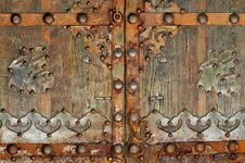 Free Iron Ornamental Gate Stock Images - 23217954