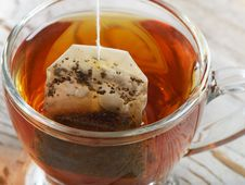 Free Teabag In The Cup Royalty Free Stock Images - 23217989