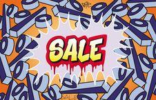 Free Sale Graffiti Stock Images - 23218244