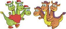 Free Three-headed Dragon Stock Photo - 23220540