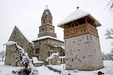 Free Densus Church In Romania Stock Photo - 23221590