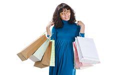 Free Happy Shopping Woman Stock Photos - 23224323