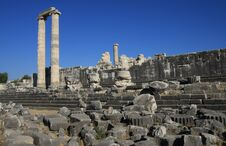 Free Temple Of Apollo In Antique City Of Didyma. Royalty Free Stock Photos - 23226608