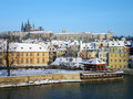 Free Prague Castle From Charles Bridge Stock Image - 23238491