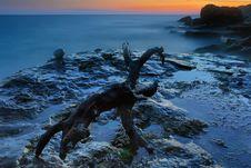 Free Rocky Coastline Stock Image - 23230821