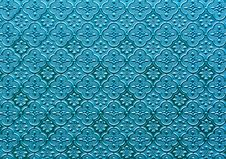 Free Glass Pattern Blue Blue Stock Image - 23231091