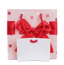 Free Gift Bag Royalty Free Stock Photos - 23231658