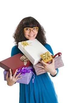 Free A Lot Of Presents Royalty Free Stock Images - 23233019