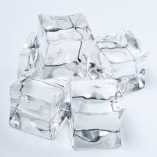 Free Ice Cubes Royalty Free Stock Photo - 23234135