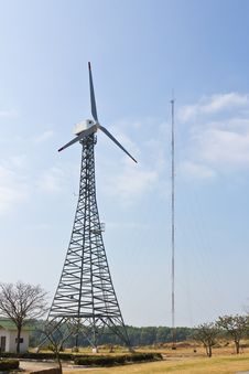 Wind Energy Turbine Royalty Free Stock Photography