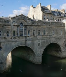 Free Pulteney Bridge, Bath Stock Photography - 23238202