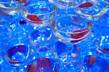 Free Champagne Glasses Royalty Free Stock Image - 23244386