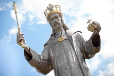 Free Sculpture Of Jesus Christ, Horizontal Royalty Free Stock Image - 23244946