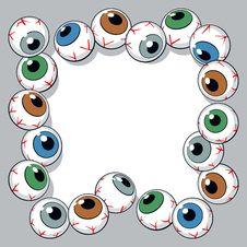Free Eyeballs Frame Stock Image - 23245141