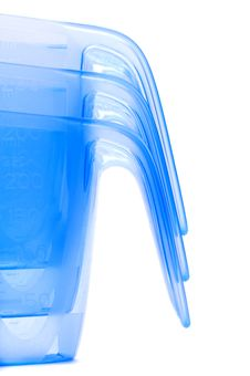Free Blue Transparent Jug Royalty Free Stock Photo - 23246005