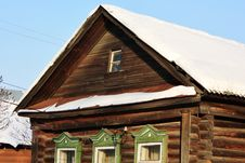 Free Facade Of An Rural House Royalty Free Stock Images - 23249159
