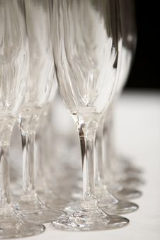 Free Champagne Glasses Stock Photography - 23250272