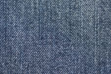 Free Blue Denim Macro Royalty Free Stock Image - 23250426