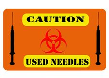 Free Biohazard Sign Stock Image - 23251971