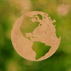 Free Paper Earth Green Stock Images - 23254944