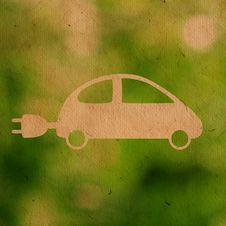 Free Eco Car Stock Photography - 23255132