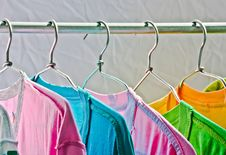 Free Hang T-shirt Stock Images - 23255364