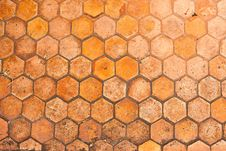 Free Hexagon Paved Pathway Stock Photography - 23256392