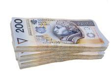 Free Polish Zloty Banknotes Royalty Free Stock Photos - 23257438