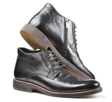 Free Men S Classic Black Leather Shoes Stock Image - 23257771