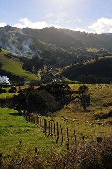 Free New Zealand Landscape Royalty Free Stock Images - 23259929