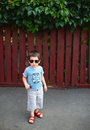 Free Boy With Sunglasses Stock Image - 23269501