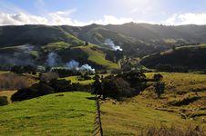 Free New Zealand Landscape Royalty Free Stock Image - 23260296