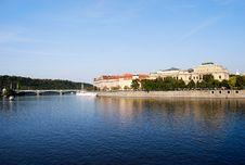 Free Vltava River Stock Photography - 23262402