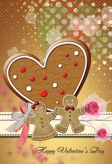Free Valentine Card No5 Stock Photo - 23263500