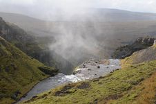 Free Waterfall In Iceland Royalty Free Stock Image - 23263666