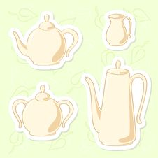 Free Teapots. Stock Photo - 23264550