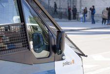 Free Police Van Stock Photography - 23264652