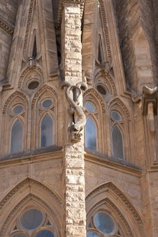 Free Sagrada Familia Royalty Free Stock Image - 23265186