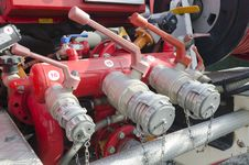Free Valves Of Fire Truck Stock Photo - 23265330
