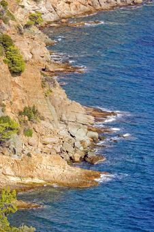 Free Grand Coast On Greece Royalty Free Stock Photography - 23265977